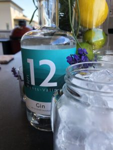 Gin km12 pour cocktail Bloody SG